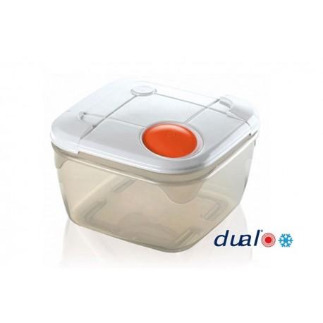 GioStyle Pojemnik Na Żywność Dual 2.0 L