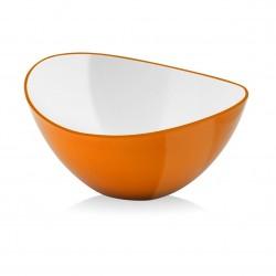 Vialli Design Miska Owalna Livio 16 cm Pomarańczowa