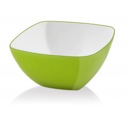 Vialli Design Miska Kwadratowa Livio 14 cm Zielona