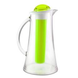 Vialli Design Dzbanek z Wkładem Na Lód Livio 2.4L Zielony