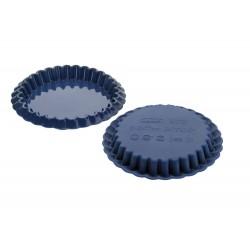 Ibili Komplet 2 szt. Forma Silikonowa Do Tartinek Blueberry 12 cm