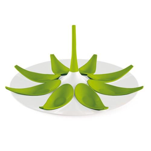 biało - zielony