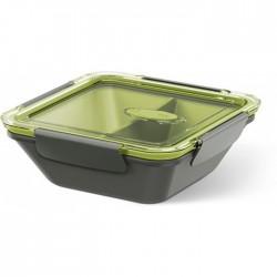 Emsa Bento Box z Wkładami 0.9L Szaro - Zielony