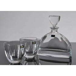 Bohemia Komplet Whisky Karafka i 6 Szklanek NEMO