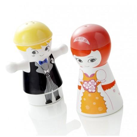 Brandani Zestaw Sól i Pieprz Para Młoda