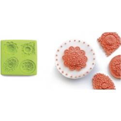Ibili Foremka Silikonowa 3D Flowers
